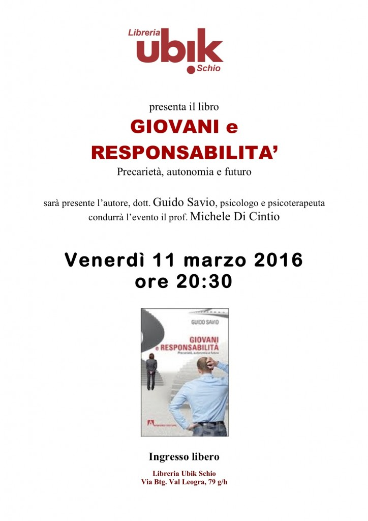 Presentazione GIOVANI E RESPONSABILITA'