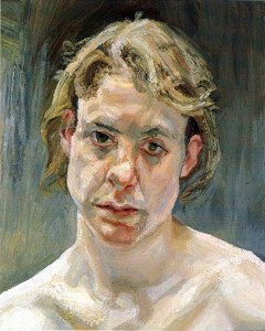 lucian freud head of a naked girl