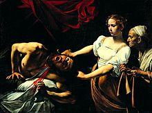 220px-Caravaggio_-_Giuditta_che_taglia_la_testa_a_Oloferne_(1598-1599)